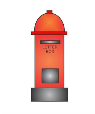 How To Draw Post Box For Kids Step By Step In Easy Slider | Apps ...