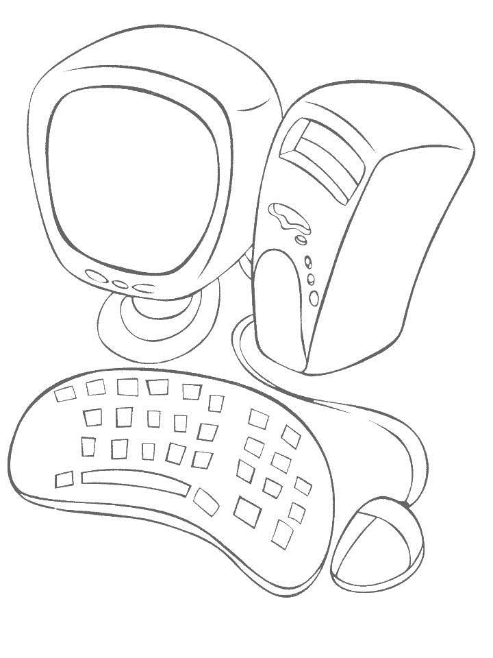 Daily Necessities Coloring Page For Kids 18 Daily Coloring Pages