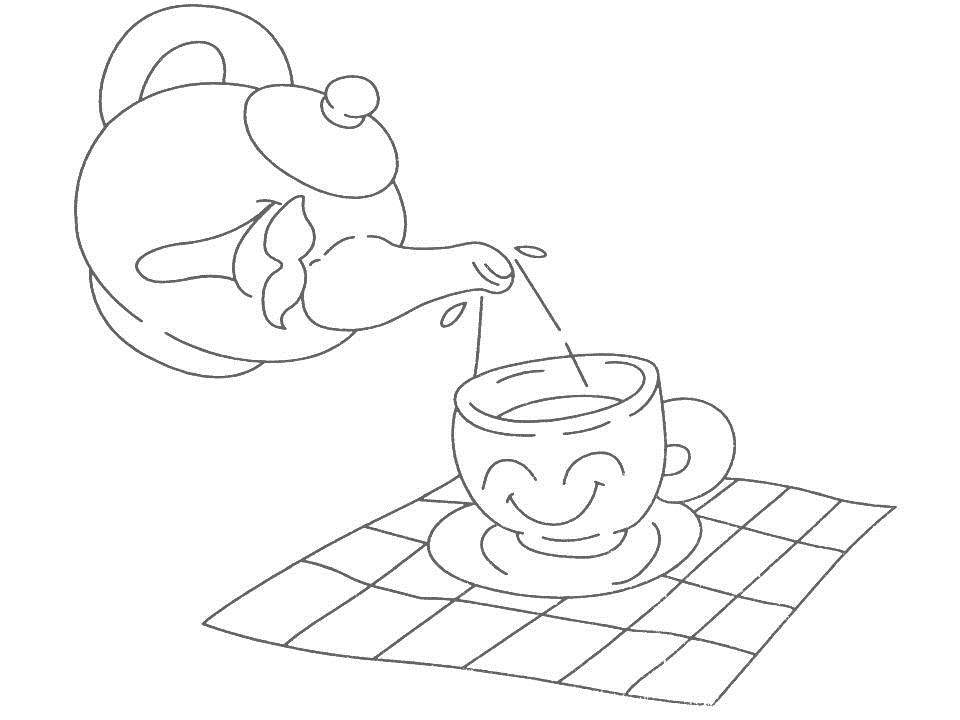 Daily Necessities Coloring Page For Kids 20 Daily Coloring Pages
