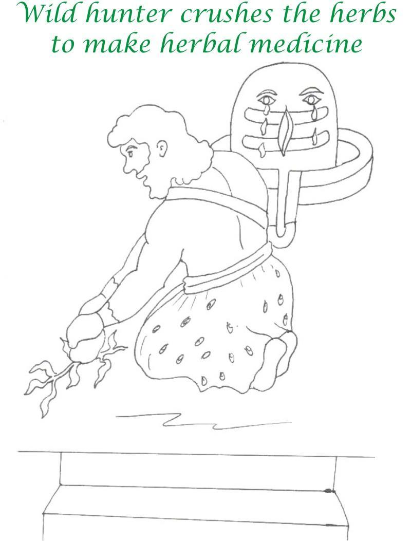 True devotee Story coloring page for kids 30