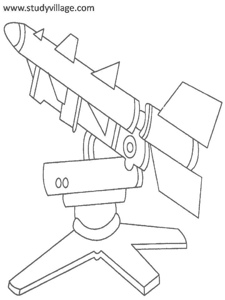 weapon coloring pages - photo#17