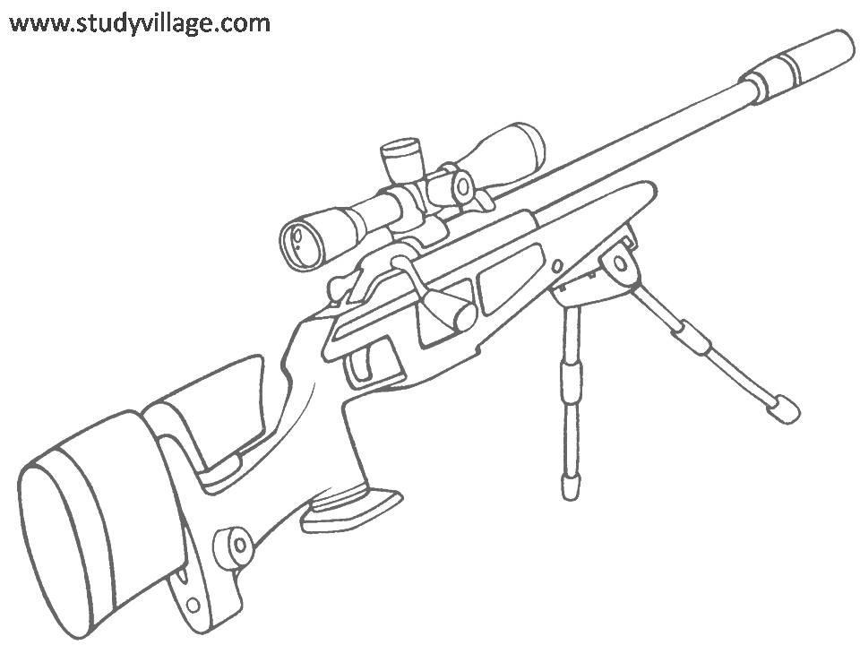 Create Your Own Weapon Coloring Page