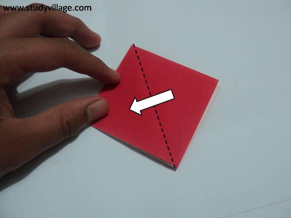 Paper Boat With Knife Knife Paper Boat Step 6