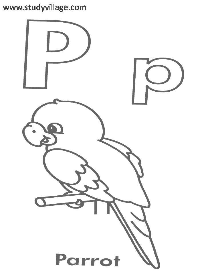 A To Z Coloring Pages Pdf : A to z alphabets coloring page