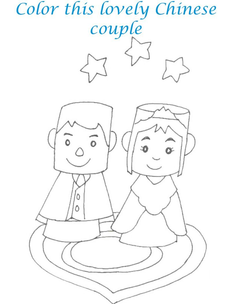 Dolls coloring printable page for kids 22
