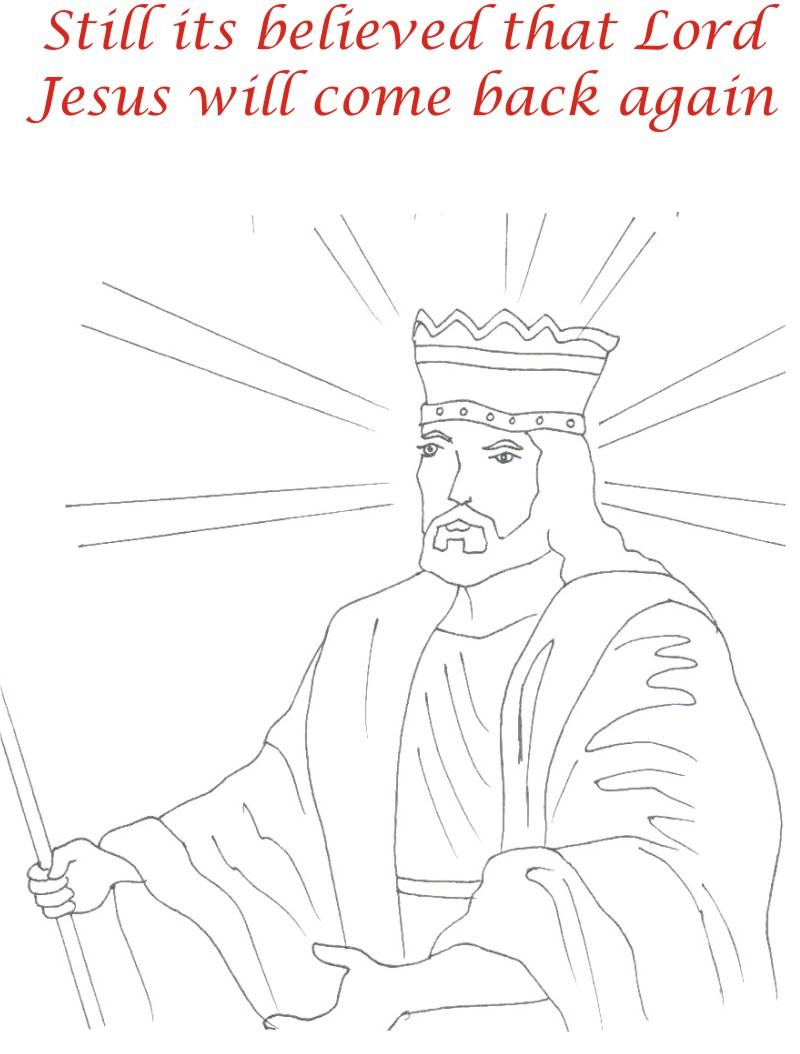 Good Friday coloring printable page for kids 14