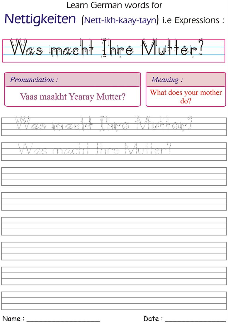 You are welcome to download the worksheet and printout as many copies ...