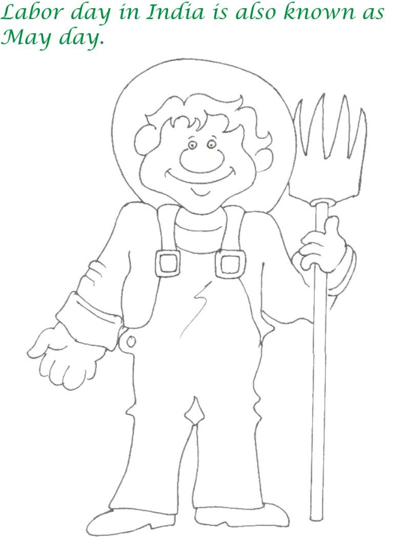 labor day coloring pages kids dudeindisneycom - Labor Day Coloring Pages Kids