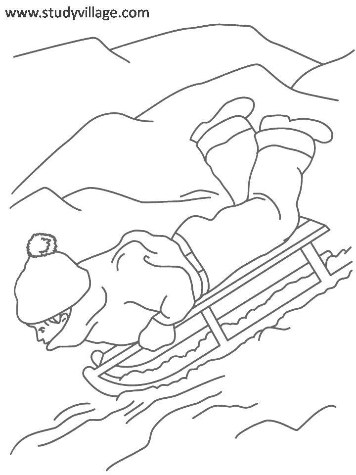 Summer Holidays Coloring Page For Kids 11