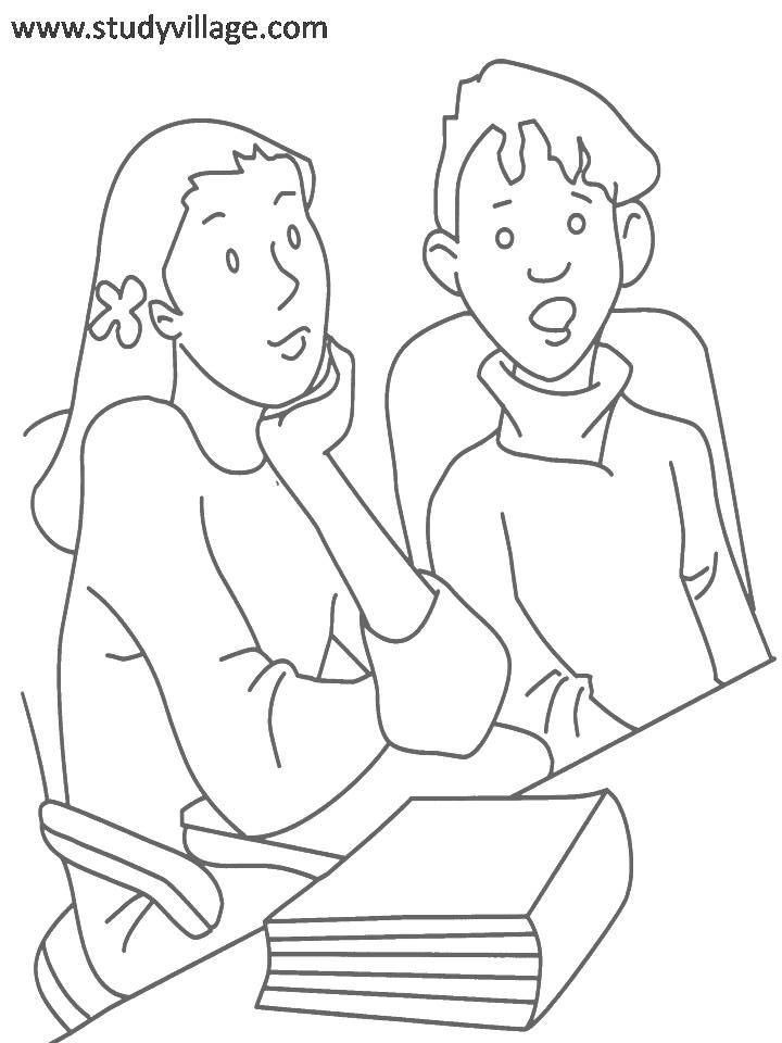 Coloring Pages For Summer Holidays : Summer holidays coloring page for kids 14