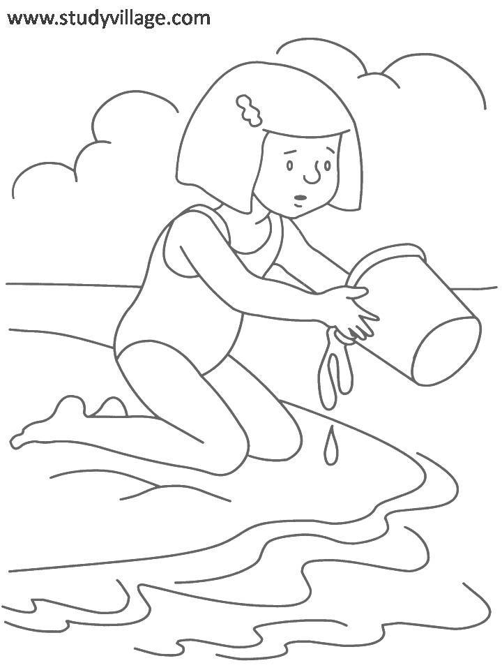 Summer Holidays Coloring Page For Kids 18