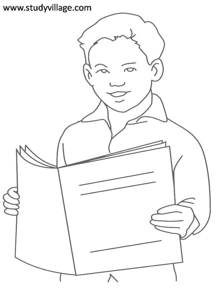 Coloring Pages For Summer Holidays : Summer holidays printable coloring page for kids 3