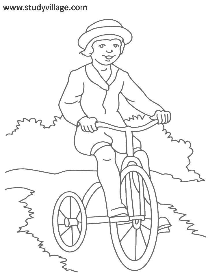 Summer Holidays Coloring Page For Kids 26