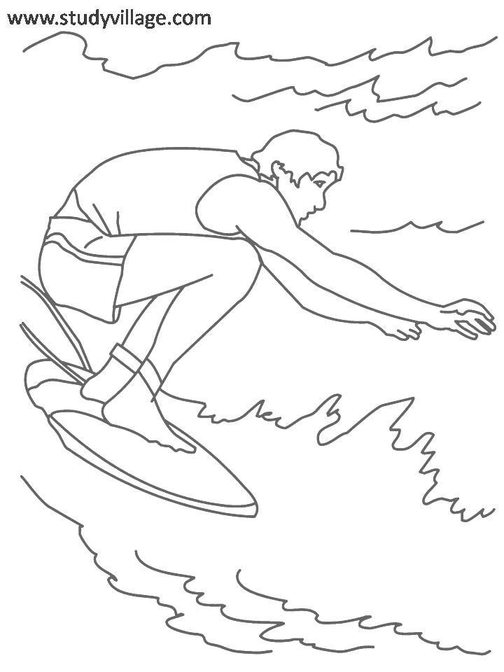 Summer Holidays coloring page for kids 29