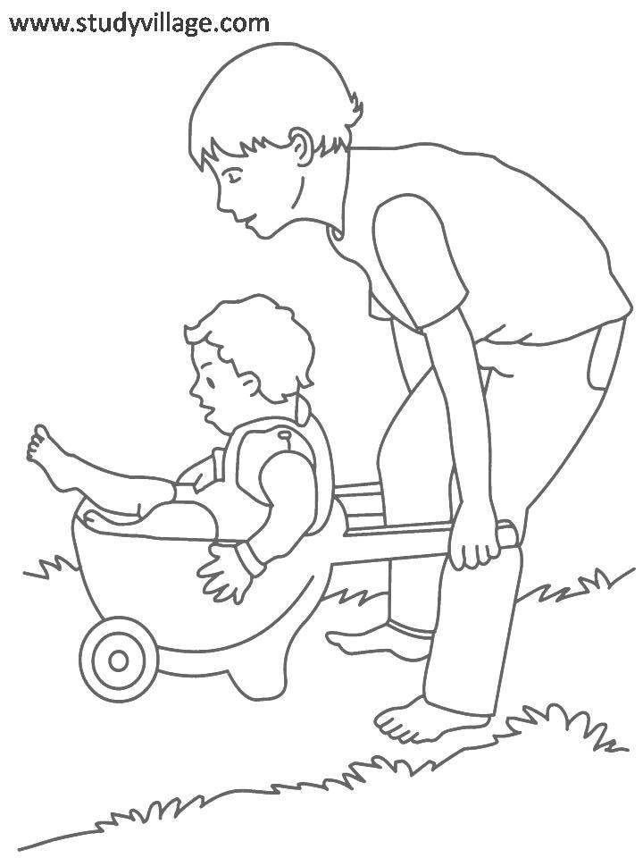 Summer Holidays coloring page for kids 31