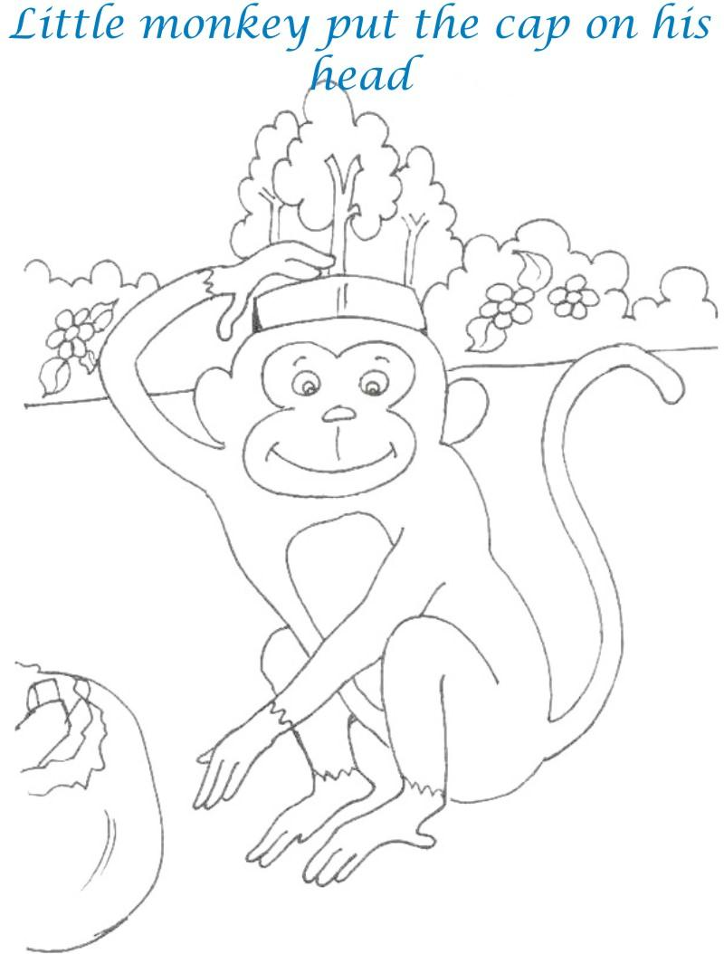 caps for sale coloring page 28 images teach easy resources