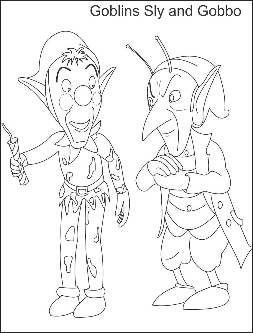 goblin coloring pages - photo#26