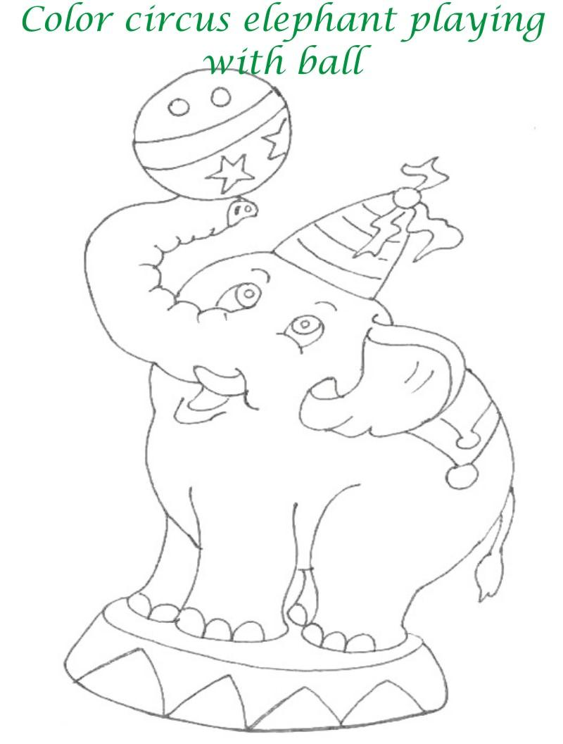 Circus Drawing For Kid...