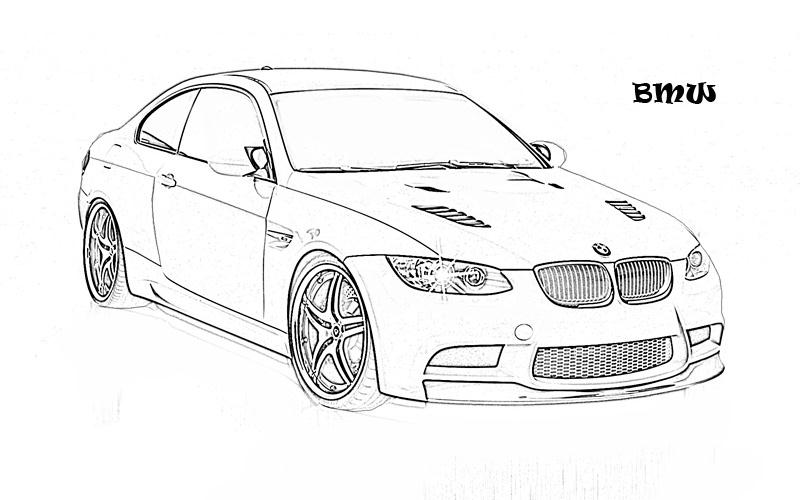 little cars coloring pages - photo#35