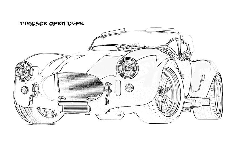 printable coloring pages exotic cars - photo#3