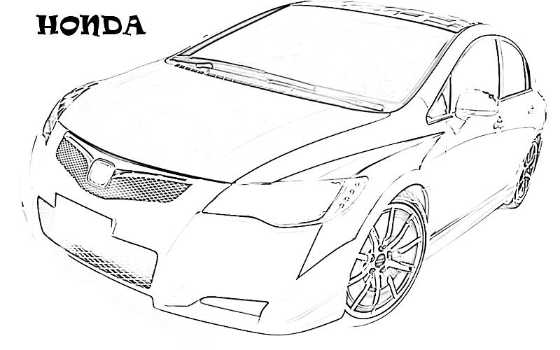 Exotic Cars Printable Coloring Page For Kids 20