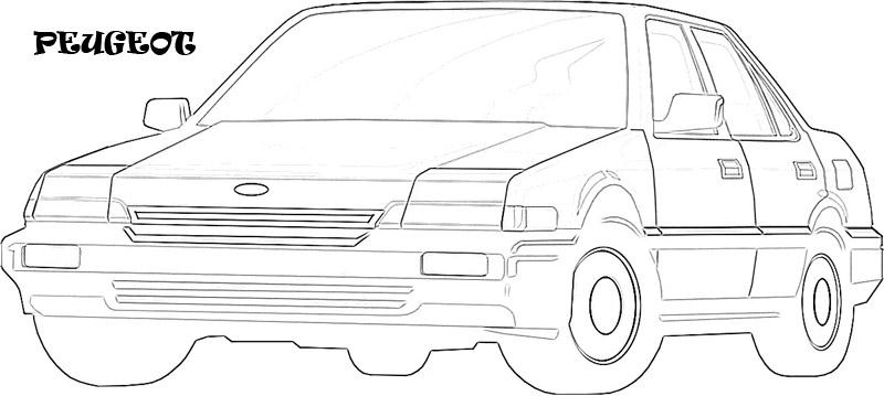 Exotic Cars Printable Coloring Page For Kids 22