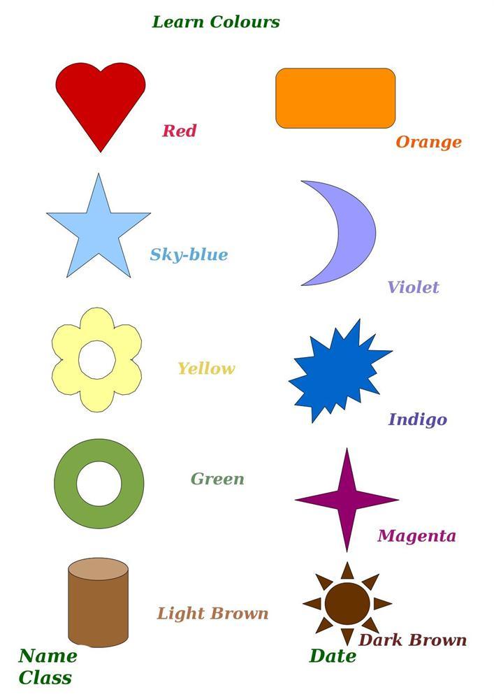 Learn Colour