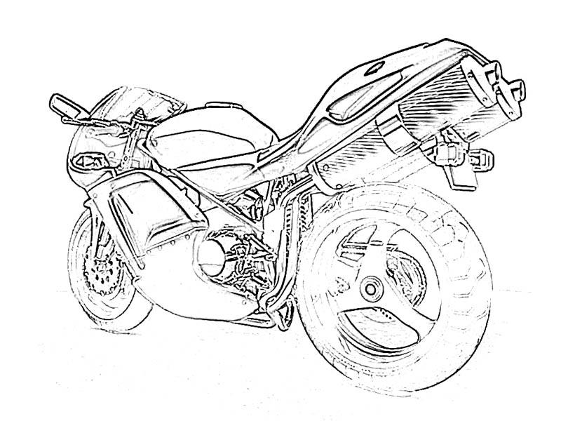 means of transportation coloring pages - photo#33