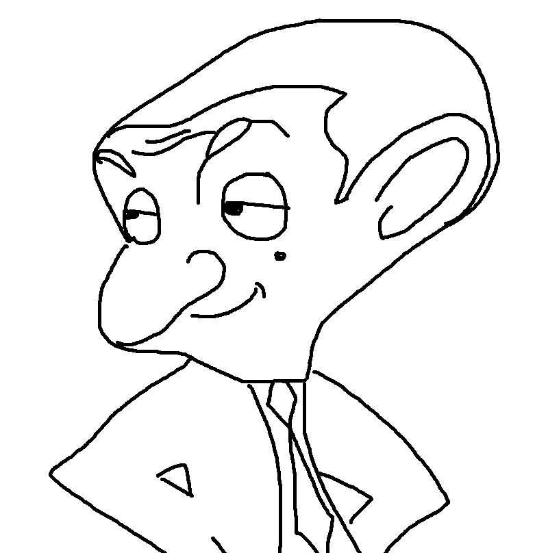 Mr Bean Coloring Pages Coloring Pages Mr Bean Coloring Pages