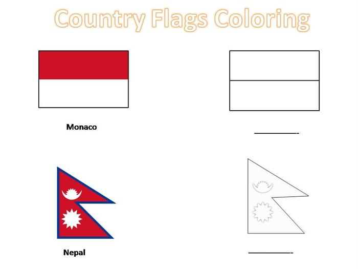 Country flag coloring pages country flag coloring pages photo5 publicscrutiny Image collections