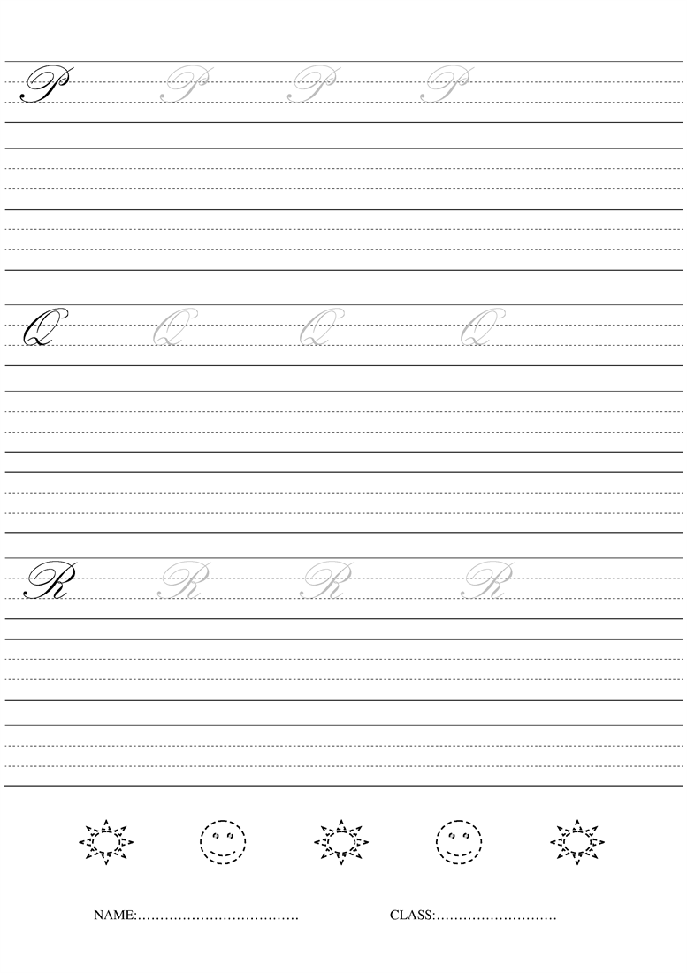 cursive writing free worksheets A collection of free resources for handwriting & lettering practice worksheets learn calligraphy through easy free worksheet printables.