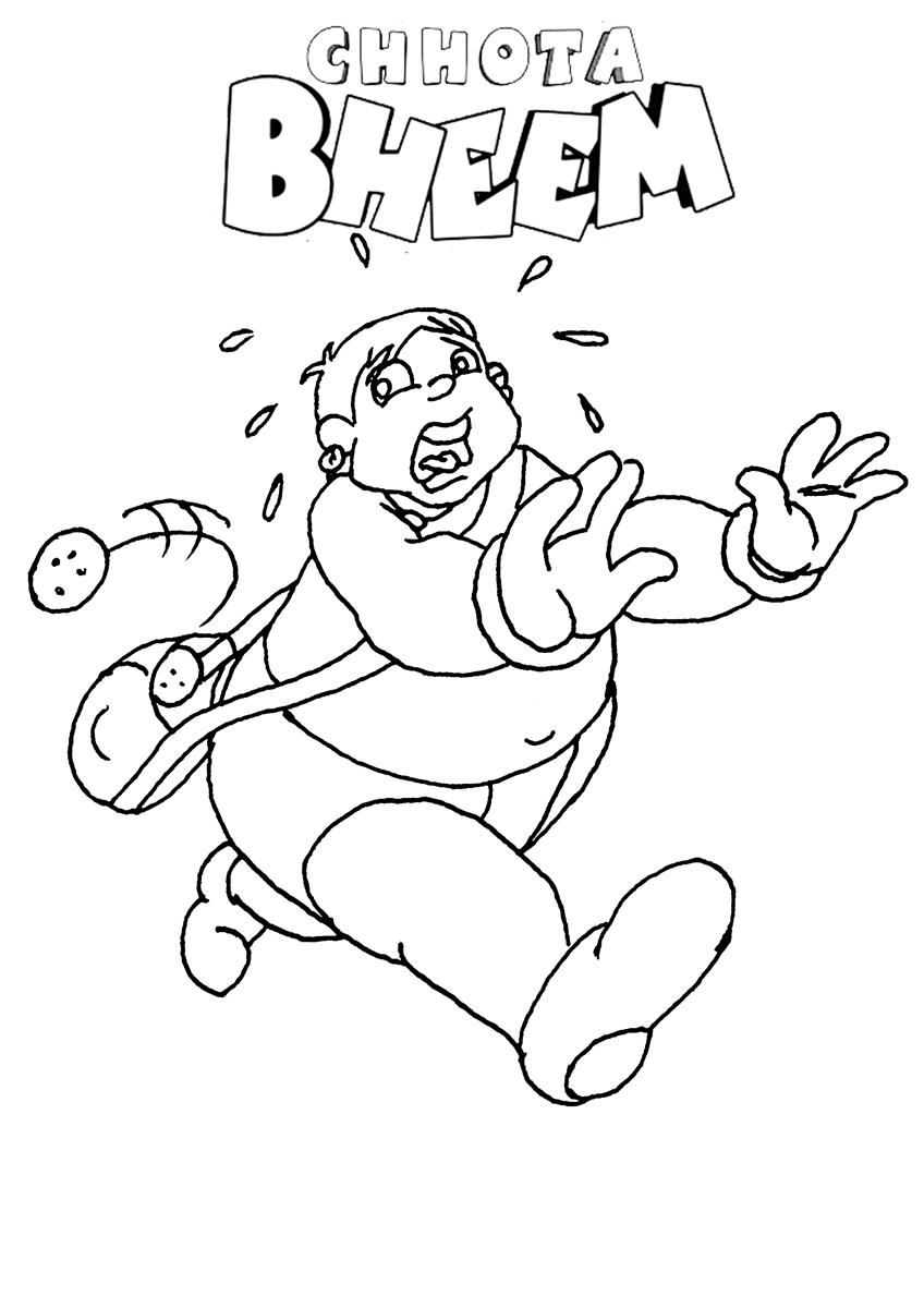 chhota bheem coloring pages - photo#6