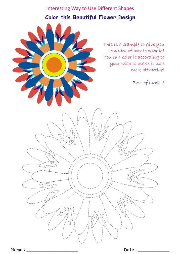 14. Beautiful Flower Designs