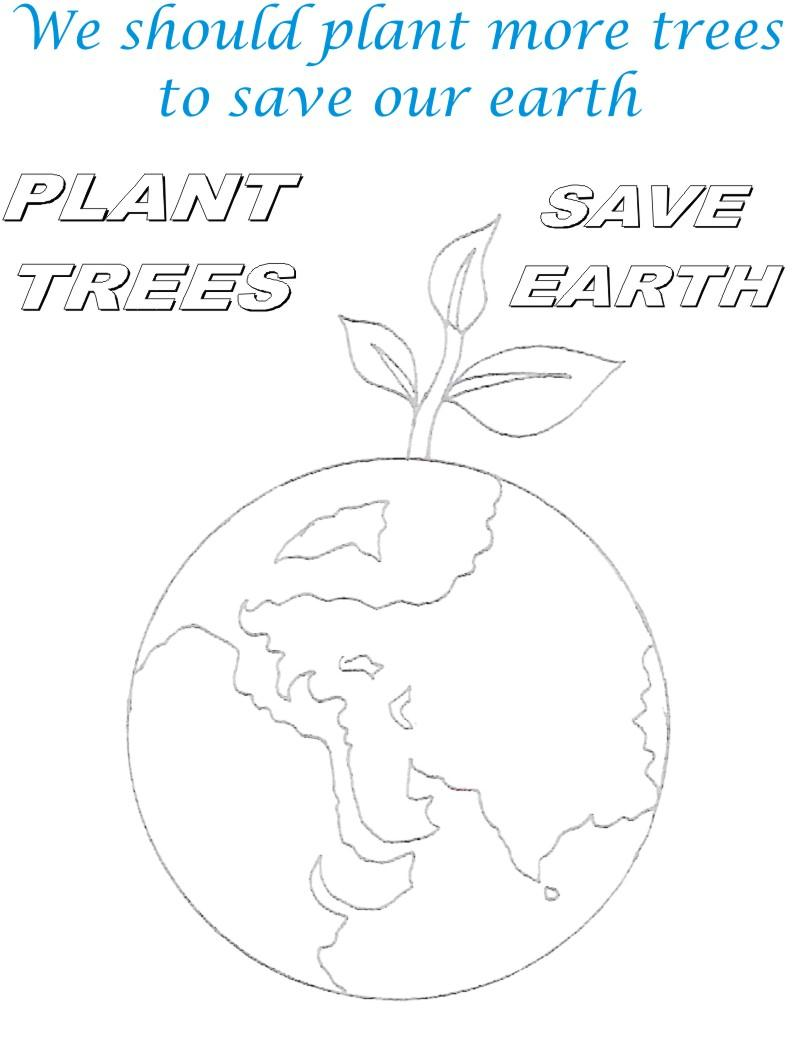 Save Environment Coloring Pages