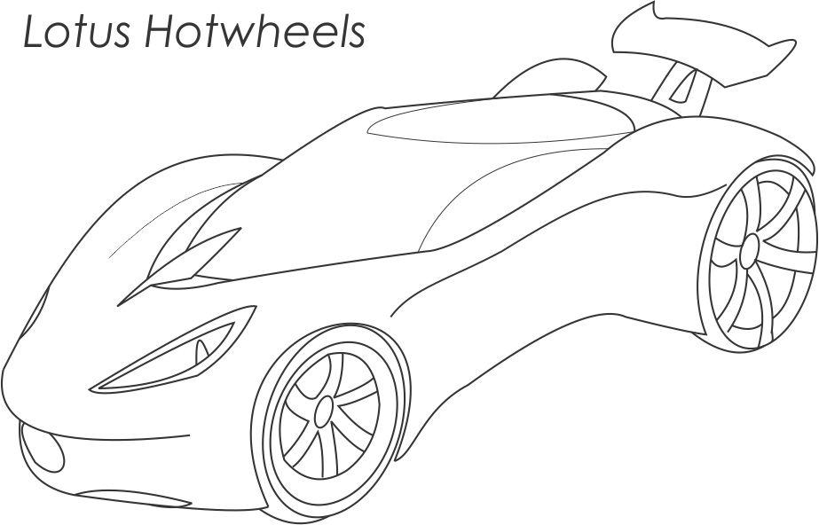 hotwheels coloring pages - super cars coloring pages for kids