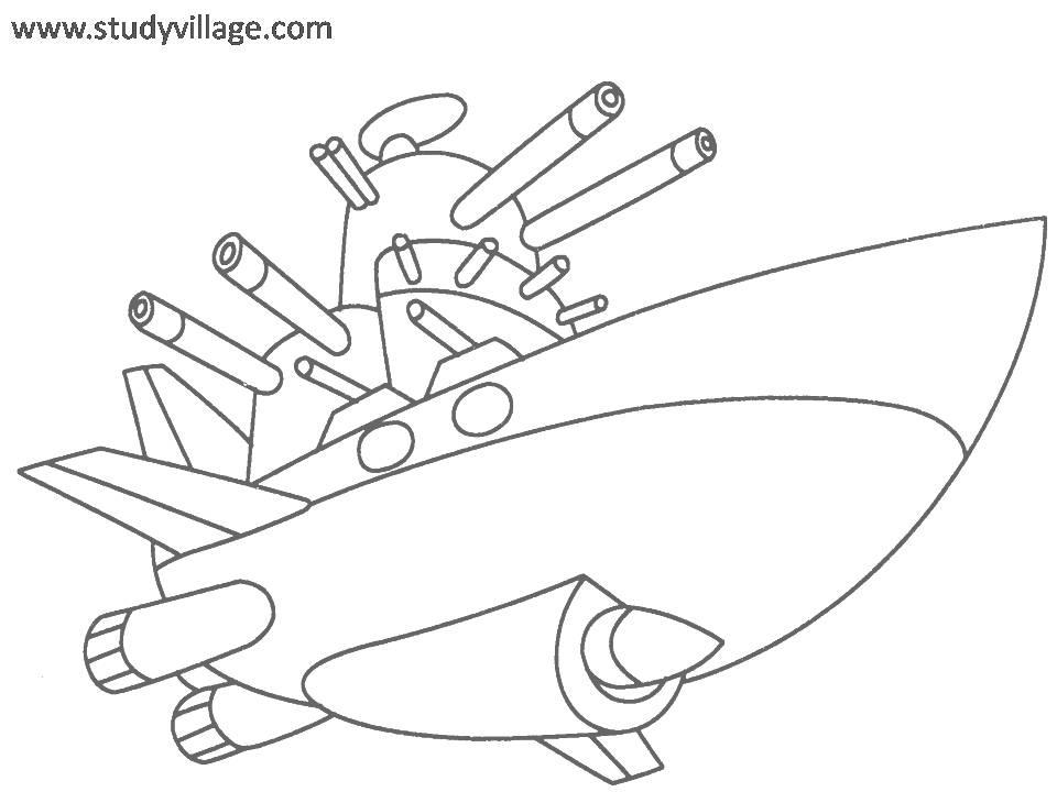 weapon coloring pages - photo#8