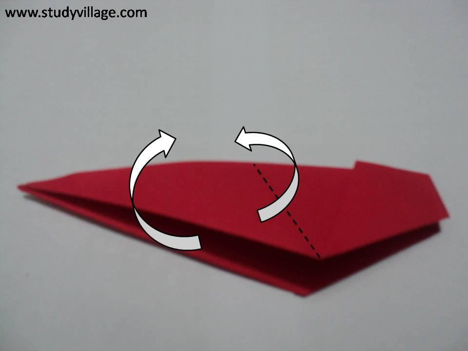 How to make beautiful Paper Peacock - Step 7