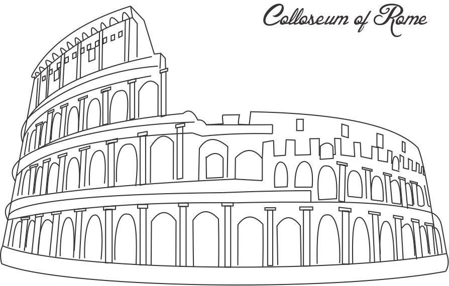 coloring pages onancient rome - photo#40