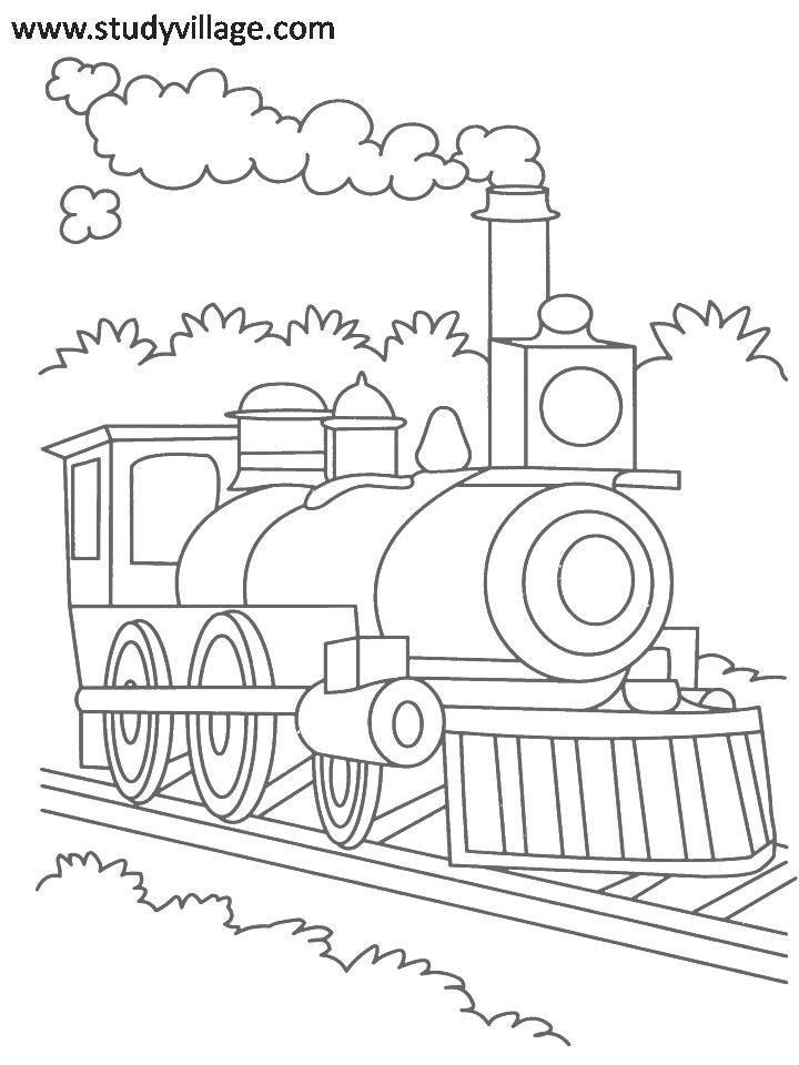 Summer Holidays printable coloring
