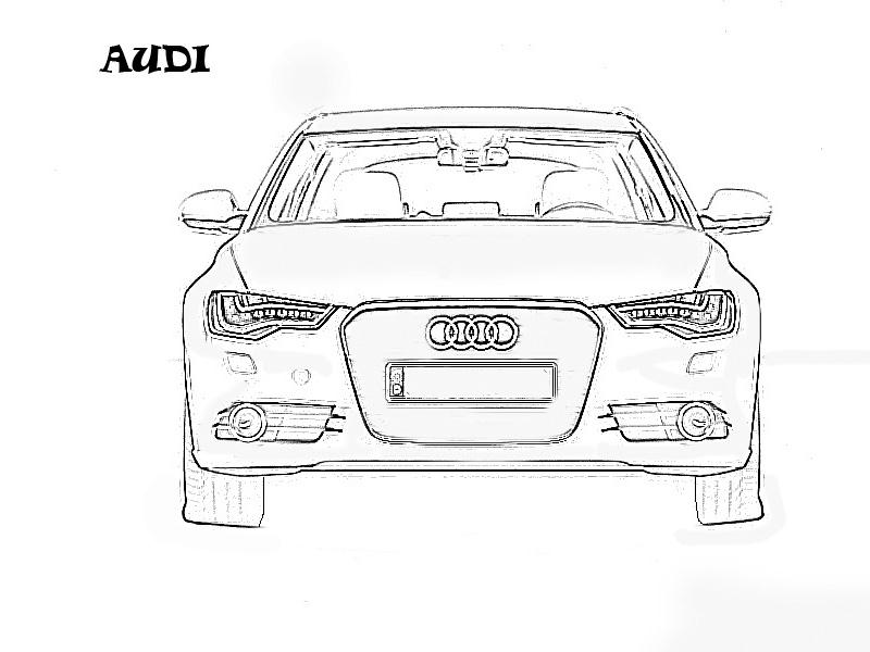 exotic cars coloring pages - photo#36