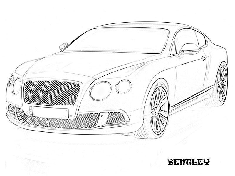 exotic cars coloring pages - photo#3
