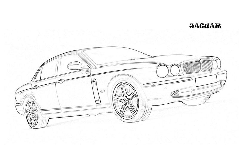 exotic cars coloring pages - photo#21