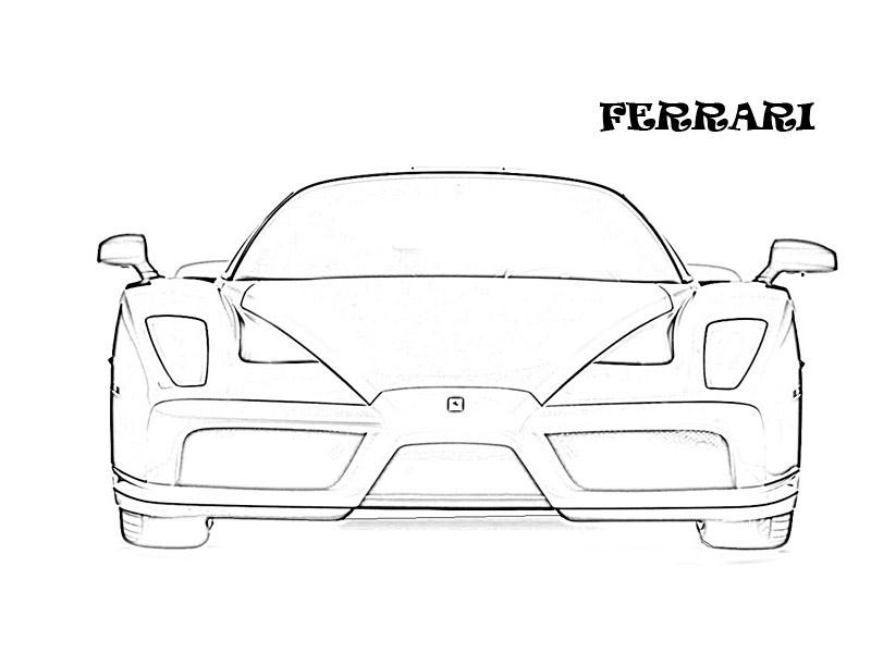 exotic cars coloring pages - photo#25