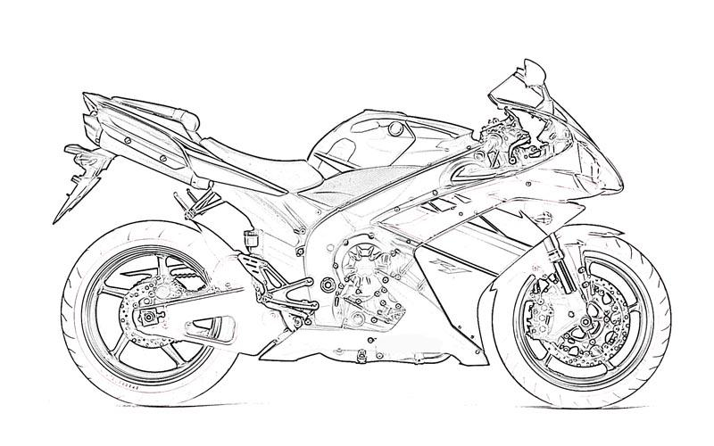 'Types Of Motor Vehicles' Printable Coloring Pages For Kids13