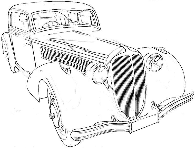 'Types Of Motor Vehicles' Printable Coloring Pages For Kids17