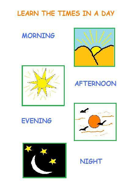 Time Of Day Worksheets - Laptuoso