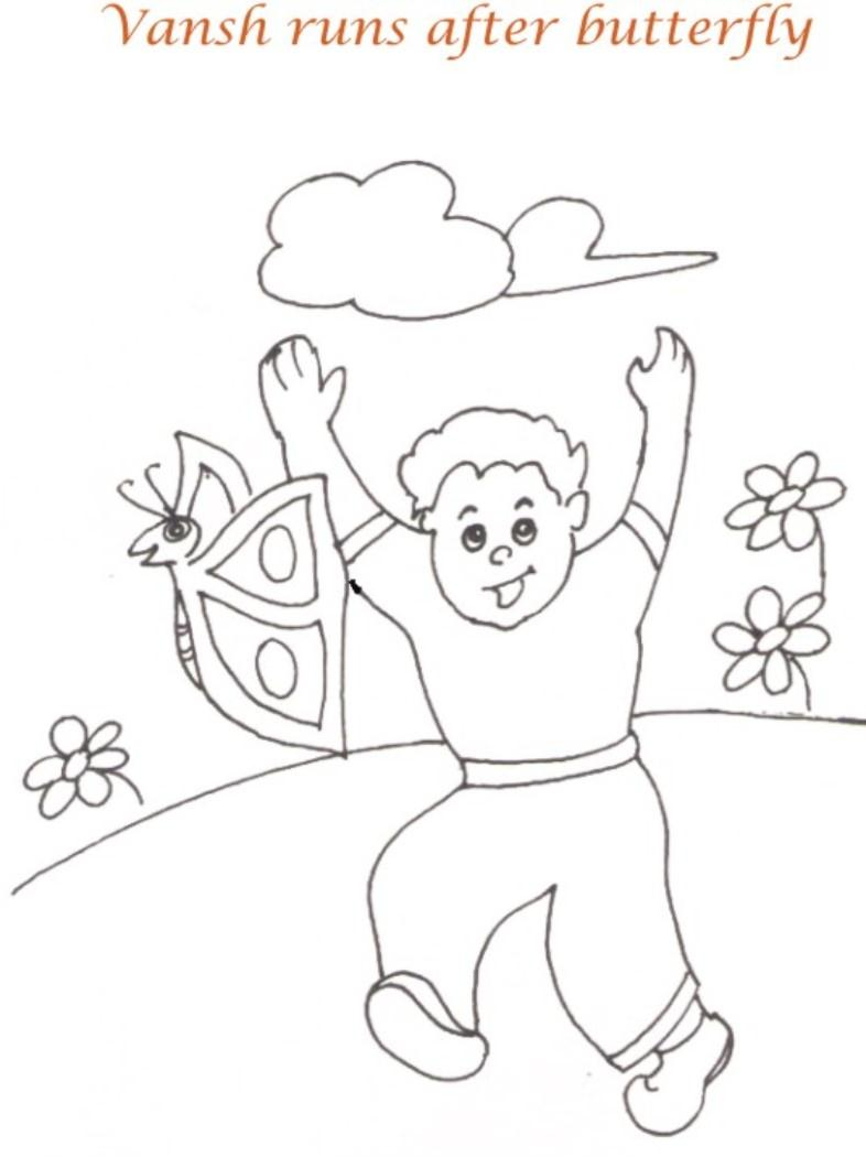 Download picnic day coloring page for kids