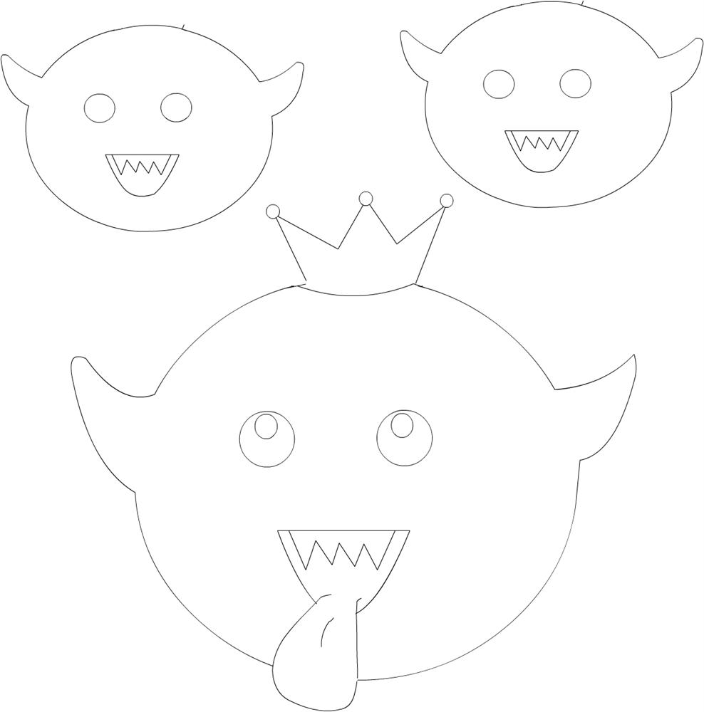 King boo coloring printable page for kids