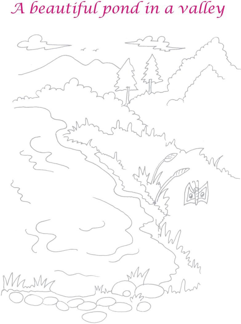 furthermore Pond View In Valley likewise Sparking India additionally Mortal Kombat X Coloring Pages Predator likewise Morning Badges. on coloring pages