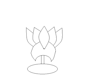 step 11: How to draw a Lotus